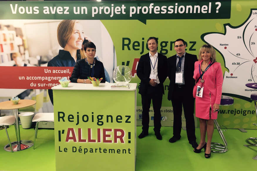 L'Allier en opération séduction au salon de l'agriculture